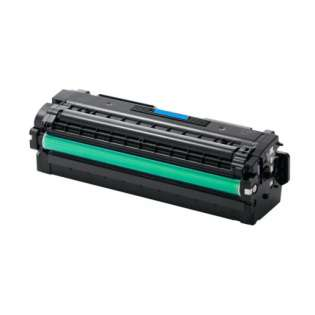 Compatible Samsung CLT-C505L toner cartridge, 3500 pages, high capacity yield, cyan