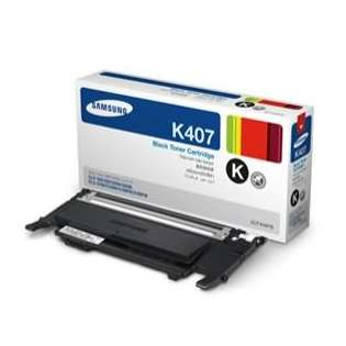 OEM Samsung CLT-K407S cartridge - black