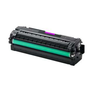 Compatible Samsung CLT-M505L toner cartridge, 3500 pages, high capacity yield, magenta