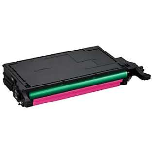 Compatible Samsung CLT-M508L toner cartridge, 5000 pages, high capacity yield, magenta