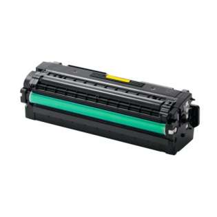 Compatible Samsung CLT-Y505L toner cartridge, 3500 pages, high capacity yield, yellow