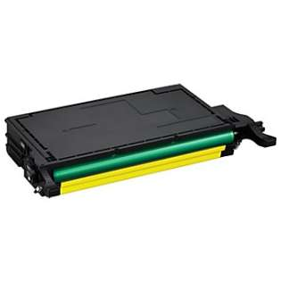 Compatible Samsung CLT-Y508L toner cartridge, 5000 pages, high capacity yield, yellow