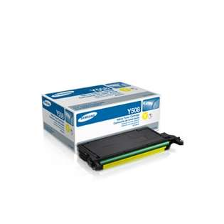 OEM Samsung CLT-Y508S cartridge - yellow