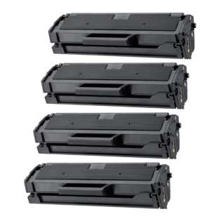 Compatible Samsung MLT-D101S toner cartridges (pack of 4)