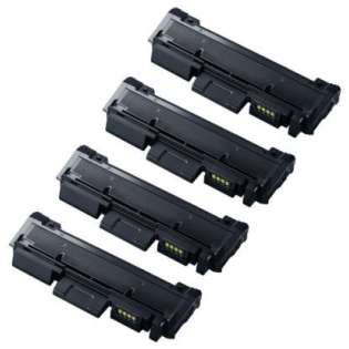 Compatible Samsung MLT-D116L toner cartridges (pack of 4)