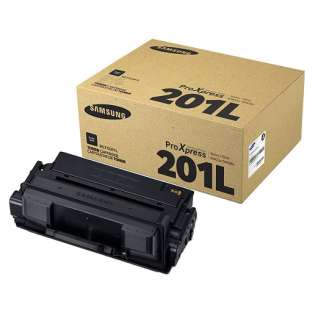Original Samsung MLT-D201L toner cartridge - high capacity yield black