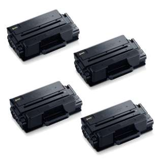 Compatible Samsung MLT-D203L toner cartridges - high capacity black - Pack of 4