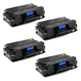 Compatible Samsung MLT-D203U toner cartridges - ultra capacity black - Pack of 4