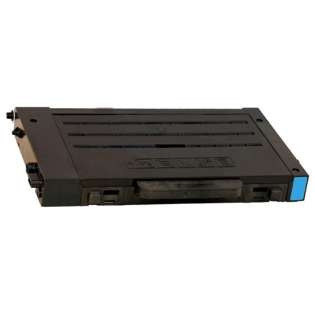 Compatible Samsung CLP-510D5C toner cartridge, 5000 pages, cyan