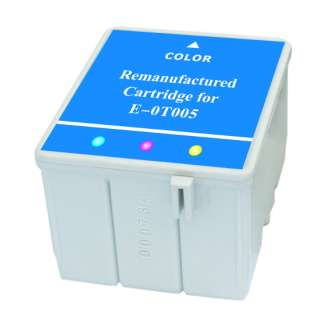 Remanufactured Epson T005011 cartridge - color