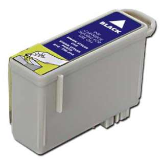 Remanufactured Epson T026201 cartridge - black