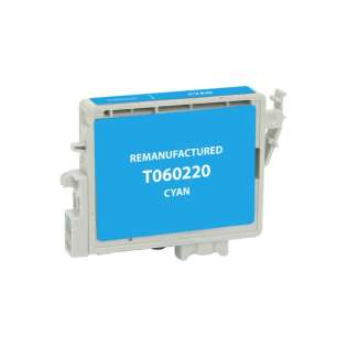 Remanufactured Epson T060220 / 60 cartridge - cyan