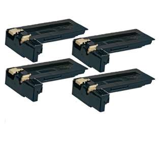 Replacement for Xerox 106R01409 cartridge - black - Pack of 4